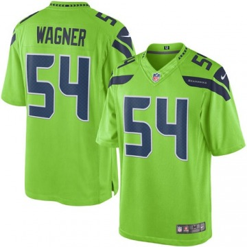 Men's Bobby Wagner Seattle Seahawks Nike Limited Color Rush Jersey - Green