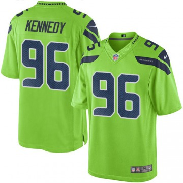 Youth Cortez Kennedy Seattle Seahawks Nike Limited Color Rush Jersey - Green