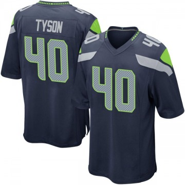 Youth Michael Tyson Seattle Seahawks Nike Game Team Color Jersey - Navy