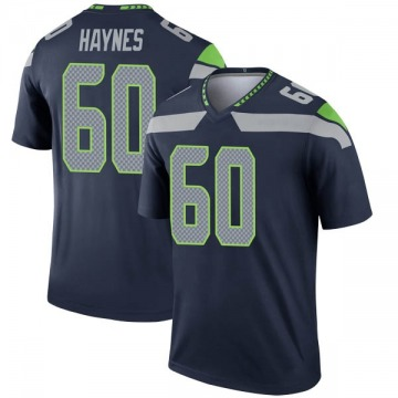 Youth Phil Haynes Seattle Seahawks Nike Legend Jersey - Navy